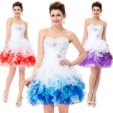Teens Short Mini Quinceanera Dress Prom Formal Party Cocktail Bridal Ball Gowns