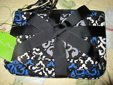NWT Vera Bradley Cosmetic Trio set in Canterberry Cobalt ~ 3 Bags/Cases~MSRP $40