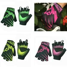Half Finger Cycling Gloves Silicone Gel Breathable Mountain Bike Bicycle Gloves