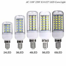 5W- 15W E14 LED Corn Light Bulb 5730 SMD Energy Saving 110V /220V Lamp White NEW