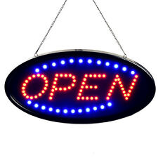 """Ultra Bright LED Neon Light 19x10""""Animated Motion OPEN Business Sign with ON/OFF"""