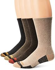Timberland Mens Socks 4 Pack Outdoor Leisure Crew Assorted- Pick SZ/Color.