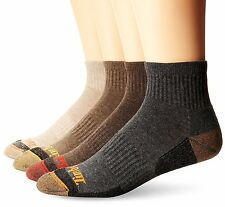 Timberland Mens Socks 4 Pack Comfort Low Quarter Sock- Pick SZ/Color.