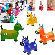 Cow Hopper(Inflatable Space Hopper, Jumping Cow, Ride-on Bouncy Animal)