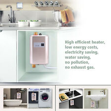 220V Portable Electric Hot Water Heater Shower System Instant Caravan Camping SE