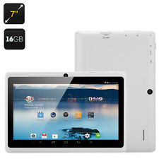 "White 7"" Android 16 GB Tablet Bundled with Waterproof Case"