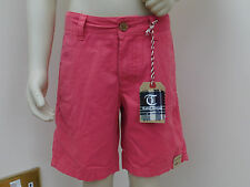 bnwt boys tailor vintage Smart Chino Shorts watermelon size age 6/7/8