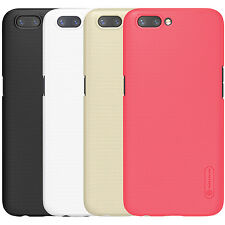 Original Nillkin For Oppo R11 Plus Frosted Matte Hard Case Back Cover + Film