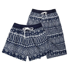 Fashion Mens Womens Couple Summer Beach Surf Board Swimming Shorts Pants