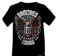 Ramones Forever T-Shirt Logo NYC punk rock Official L only NWT