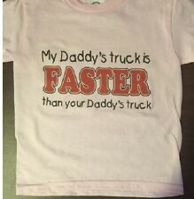 Daddy's truck is faster funny toddler shirt kids t shirt boys girls youth tshirt