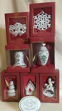 LENOX 2011 ANNUAL ORNAMENT  ASSORTED STYLES *NEW IN BOX*