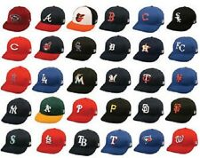 MLB Adult Cotton Twill Raised Replica Baseball Hat 300 Select Team From Drop Dow
