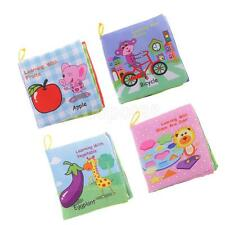 Baby Kid Early Intelligence Education Learning Cloth Fabric Cognize Book Toy