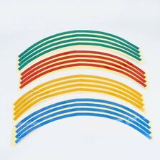 Multi-Color Car Motorcycle Wheel Stickers Reflective Rim Stripe Tape Decal