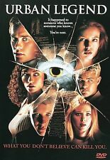Urban Legend (DVD, 1999, French Subtitled) Widescreen