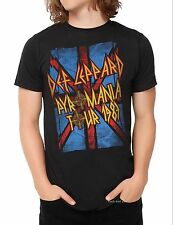 Def Leppard Pyromania 1983 Tour UK metal rock concert T-Shirt L 2XL 3XL  NWT