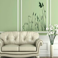 Pond Reeds Removable Vinyl Decal / Art Decor Wall Transfer / Art Wall Decal NE82
