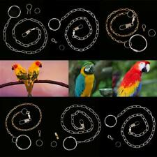 Fashionable Durable Parrot Foot Metal Fission Chain for Birds Cockatiels Peony