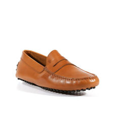 Tods Shoes for Men Gommini Driving Leather Loafers Cogniac (TDM21)