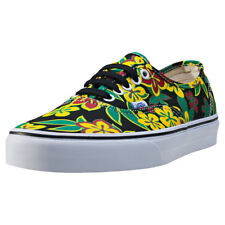 Vans Authentic Freshness Mens Trainers Black Floral New Shoes