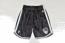 Brooklyn Nets adidas Authentic NBA Black Shorts size S-2XL ~NWT~