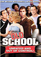 Old School (DVD, 2003, Wide Screen) Unrated and Out of Control! Brand New!