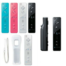 Remote +Nunchuck Controller+ Case For Nintendo Wii & wii u Built in Motion Plus