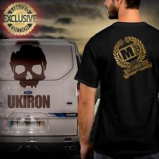 UKIRON *LIMITED EDITION - Ford M-SPORT TRANSIT CUSTOM* T-Shirt Gold Racing top