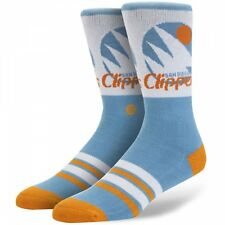 Stance NBA Hardwood Classics San Diego Clippers Socks in Blue - Official NBA