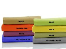 Best Egyptian Cotton Fitted Sheet&Pillow Cases All Size&Color 1000 Thread Count