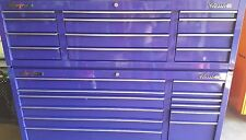 Snap On KRA2432 Purple ToolBox with KRA2412 Top Chest Rubber Top tool box