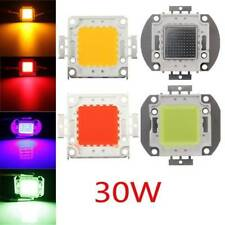 30W DC32-36V High Power LED Chip Light Lamp Blue/Green/Red/Amber Home Car For DI