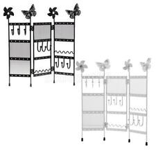 Screen Jewelry Organizer Display Stand Hanging Rack Necklace Earrings Holder
