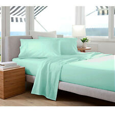 400 TC Egyptian Cotton DUVET COVER Percale Ice Blue