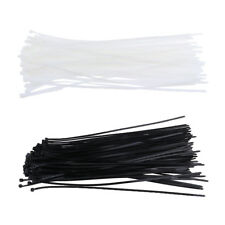 4.8x400mm 100pcs Industrial Wire Cable Reusable Zip Ties Nylon Tie Wraps