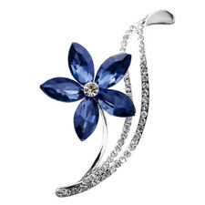 Wedding Pins Brooches For Women Rhinestone Choose 3 Colors Flower Brooches