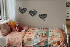 LIVE LOVE LAUGH vinyl wall art sticker hearts butterflies leaves home decor DIY