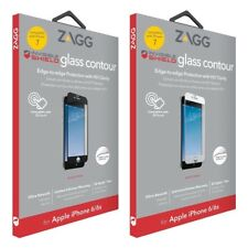 "ZAGG InvisibleShield Glass Contour Series Screen Protector for iPhone 7 4.7"" TM"
