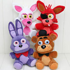 New Five Nights at Freddy's 4 FNAF Horror Game Plush Dolls Kids Plushie Toys 7''