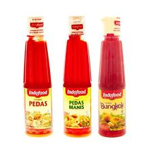 Indofood Chili Sauce Condiment Cooking Dipping Sauce 140ml/4.9oz Spicy Halal