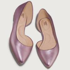 Avon D'Orsay Cushion Walk Shoes Flats Size 8 39 or 11 42 Metallic Pink Rose New