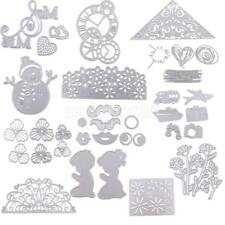 13 Pattern Cutting Dies Stencil DIY Album Scrapbook Paper Card Embossing Crafts