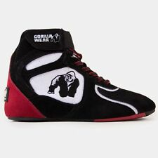 Gorilla Wear Chicago High Tops Black/White/Red Limited Edition