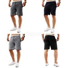 Summer Mens Casual Sport Sweatpants Jogging Gym Cotton Shorts Trousers
