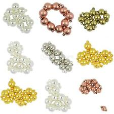 10 Sets 6/8/10mm Stainless Steel Magnetic Clasps Round Ball DIY Jewelry Making