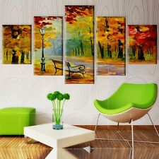 Art Park For Living Room Canvas Picture Painting Abstract Wall Poster Home Decor