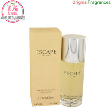 Escape Cologne 3.4 / 3.3 / 1.7 oz  By CALVIN KLEIN 100 ML FOR MEN EDT SPRAY NEW
