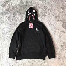 Unisex Hoodie Shark Bape Waist Zipper Design A Bathing Ape Jacket Casual Sweater