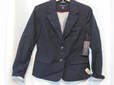 NWT Tommy Hilfiger Masters Navy Double Button Blazer 4- 6 -12 Org $129.50